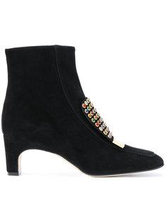 ботинки с заклепками Sergio Rossi