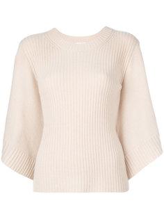 ребристый свитер с широкими рукавами Chloé