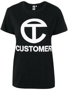 футболка с одним рукавом Telfar