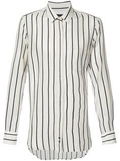 рубашка в полоску с потайной застежкой Ann Demeulemeester