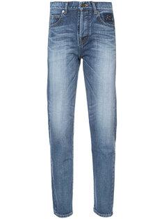 зауженные джинсы кроя слим Saint Laurent