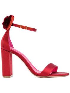 ботинки Minnie с помпонами Oscar Tiye