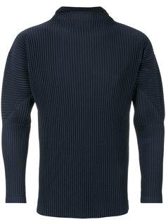 pleated detail sweatshirt Homme Plissé Issey Miyake