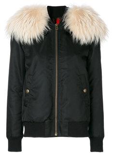дутая куртка с капюшоном  Mr & Mrs Italy