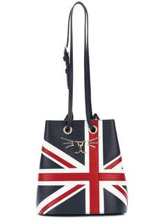 сумка на шнурке Feline Union Jack Charlotte Olympia