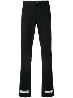 джинсы с фирменными полосками Off-White