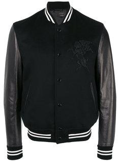 куртка-бомбер с отделкой  Alexander McQueen