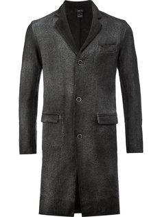 однобортное пальто Avant Toi
