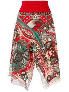 асимметричная юбка  Jean Paul Gaultier Vintage
