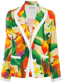 printed blazer Isolda