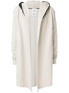 пальто с контрастным капюшоном Lost & Found Rooms