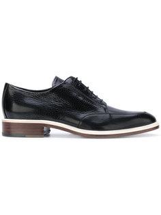 ботинки-дерби с контрастной отделкой Lanvin
