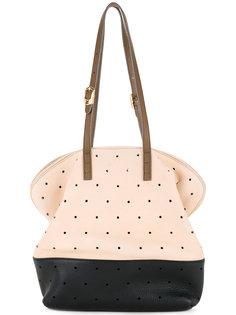 сумка-тоут с перфорацией  Fendi Vintage