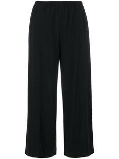 широкие укороченные брюки Helmut Lang