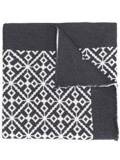шарф с узором в технике интарсия Versace
