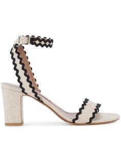 двухцветные босоножки на каблуке Leticia Tabitha Simmons
