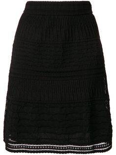 А-образная юбка с вышивкой  M Missoni