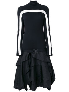 асимметричное платье  Marcelo Burlon County Of Milan