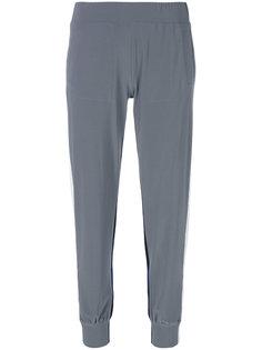 спортивные брюки с полосками по бокам Norma Kamali