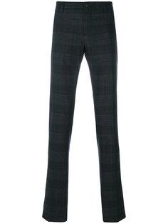 брюки в клетку Etro