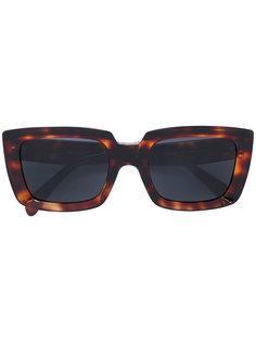 tortoiseshell square sunglasses Céline Eyewear