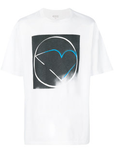 футболка с изображением сердца Maison Margiela