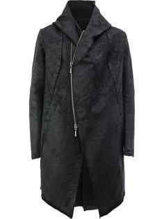 куртка с капюшоном свободного кроя Masnada