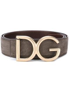 ремень с логотипом DG Dolce & Gabbana
