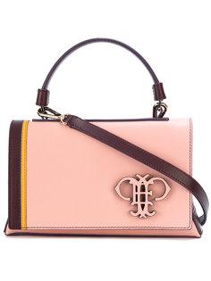 сумка на плечо с тисненым логотипом  Emilio Pucci