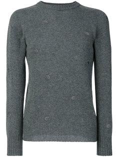 holes detail sweatshirt  Dondup