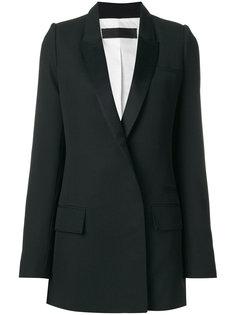 блестящий пиджак Calder Haider Ackermann