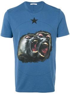 рубашка с принтом Monkey Brothers Givenchy