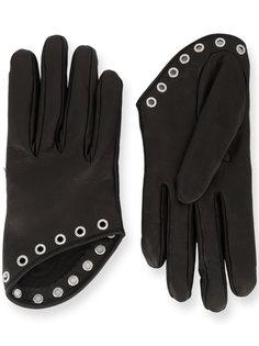 короткие декорированные перчатки Alexander McQueen