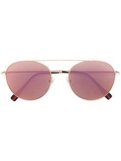classic aviator sunglasses Prada Eyewear