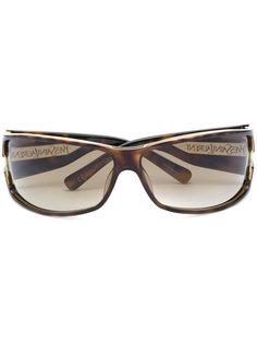 солнцезащитные очки в черепаховой оправе  Yves Saint Laurent Vintage