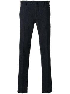 плиссированные брюки Pt01