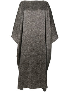 платье макси с драпировкой  Jil Sander