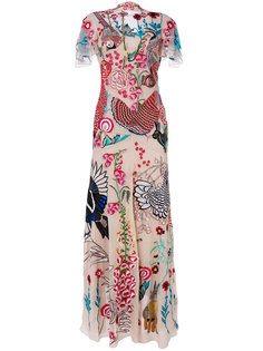 Woodland long dress Temperley London