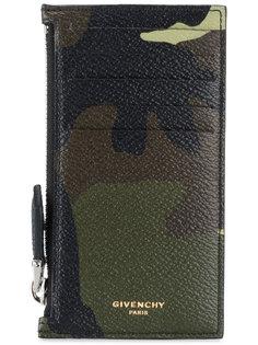 кошелек с камуфляжным узором Givenchy