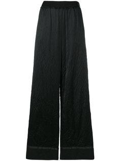 широкие брюки с мятым эффектом  Maison Margiela