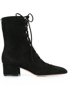 ботинки на шнуровке  Gianvito Rossi