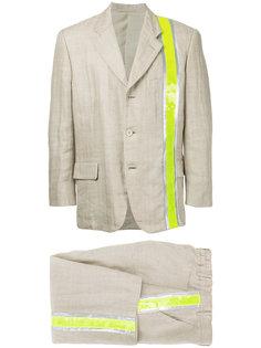 костюм с переливающейся панелью Comme Des Garçons Vintage
