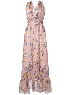 платье с цветочным рисунком MSGM