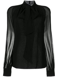 pussy bow blouse Giambattista Valli