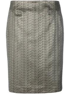 metallic a-line skirt Luisa Cerano