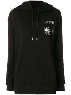 chest patches hoodie Versus