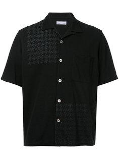 рубашка с узором в ломаную клетку Comme Des Garçons Vintage
