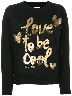 свитер love to be cool Twin-Set