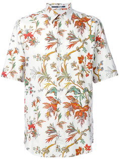 рубашка с цветочным принтом McQ Alexander McQueen