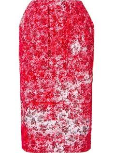 юбка-карандаш с цветочным принтом Ponti